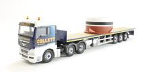 CORGI moderno camion trasporto merci pesanti CC15211 MAN TGX Flatbed & Carica COLLETT 1/50