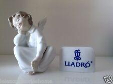 Lladrò - Lladrò Scultura Porcellana Angelo - Lladrò Statuina Angioletto