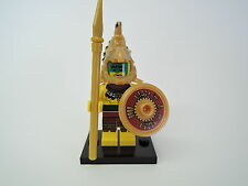 Lego Figur Sammelfigur Serie 7 Nr. 2  Aztekenkrieger  neuw.  + Platte COL098