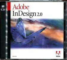 Adobe In Design 2.0 MAC UPGRADE Version w/ Serial Number MINT!