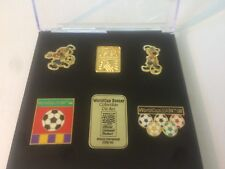 1994 World Cup Pin Set - New in Display Case
