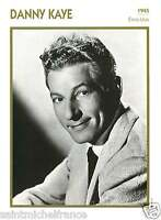 DANNY KAYE ACTEUR ACTOR FICHE CINEMA USA 90s