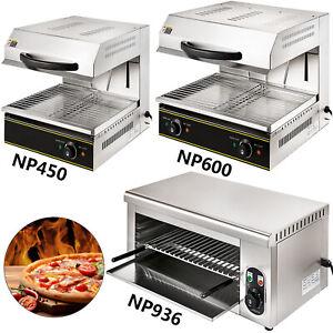 Salamander Ofen Überbackgerät Elektro Grill Toaster Edelstahl 2000W 4000W Gastro