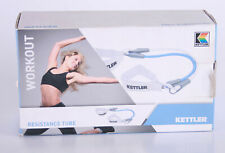 Kettler Sport Workout Fitness Resistance Stretch Band Tube Home Gym Exercise Set
