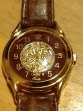 Vtg Sergio ll Ladies Skeleton watch, running w/new battery installed M
