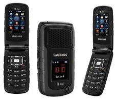 Brand Original Samsung Rugby II SGH-A847 Black (AT&T) unlocked Phone Filp GSM