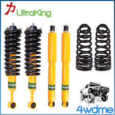 "Toyota Prado 90 95 Series HD Front & Rear Shocks + Coil Springs 2"" Lift Kit"