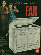 Publicité ancienne Far cuisinière issue de magazine 1960