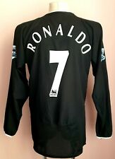 Manchester United 2003 - 2005 Away football shirt #7 Ronaldo