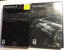 Need for Speed: Most Wanted -- Black Edition (Sony PlayStation 2, 2005) Complete