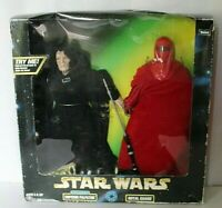 KENNER STAR WARS ACTION FIGURES EMPEROR PALPATINE AND ROYAL GUARD NEW