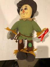 """17"""" Wizard Of Oz Stuffed Scarecrow"""