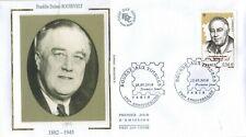 2010-Fdc-Enveloppe soie 1°Jour**F.Roosevelt-Philatélie-Bourse aux Timbres-Yv4447
