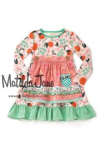 NEW Matilda Jane Joanna Gaines once upon time Sweet Clementine Dress size 6