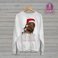 Snoop Dogg Chrizzlemas Inspired Novelty Christmas Sweater Jumper
