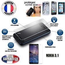 Protection d'Ecran en Verre Trempé Contre les Chocs pour Nokia 3.1