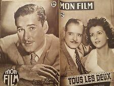 """MON FILM 1949 N° 170 """" TOUS LES DEUX """" avec RENEE SAINT-CYR et ANDRE LUGUET"""
