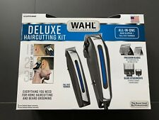Wahl Deluxe Complete Hair Cutting Kit Clipper Set with Beard Trimmer