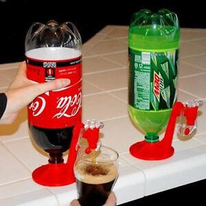 Fashion Creative Coke Fizzy Soda Soft Drinking Drink Saver Dispenser Faucet Bar