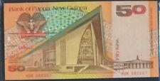 Papoea-Guinee Pick-Aantal: 11a ongecirculeerd 1989 50 Kina (8860522
