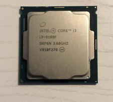 Intel core i3-9100f 4 cores 4 threads 3.60 GHz LGA1151 (300 series)