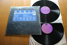 RAKIM THE 18TH LETTER 2xLP-US OG 1997 UNIVERSAL DJ PREMIER PETE ROCK
