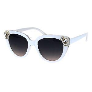 Damen Strass Sonnenbrille Schmetterling Katzenauge Mode Brillen UV 400