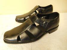 Men's BOLANO Black Sandals - Sz. 12