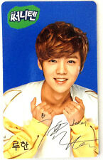 EXO Photocard - [Luhan] Sunny Ten Promotion Official Photo Card (Blue Type) kpop