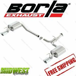 Borla S-Type Rear Exhaust Fits 2013-2015 Honda Accord 3.5L 2.4L Sport FWD 4 Door