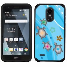 For LG Stylo 3 / Stylo 3 PLUS Dual Layer Phone Case -Ocean Turtle