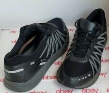 New listing Men's SAS Pursuit MeraMax Comfort Lace-Up Walking BLACK Tennis Shoes Sz 12.5W!