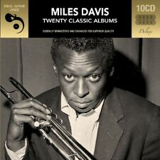 MILES DAVIS - 20 CLASSIC ALBUMS DELUXE KLAPPBOX, DIGITAL REMASTERT 10 CD NEW+