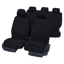 Autositzbezüge Sitzbezüge Schonbezüge Schwarz Universal passend für Volvo