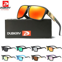 DUBERY Men's Polarized Sunglasses Outdoor Driving Unisex Women Sport Sun Glasses