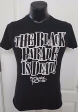 My Chemical Romance Band The Black Parade Is Dead Black T Shirt Small Rare