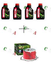 KIT TAGLIANDO OLIO MOTUL 5100 4T 10W40 4 LT+FILTRO HF133 SUZUKI GSX1100 80/87