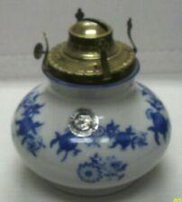 Vintage Lamplight Farms Bavarian Porcelain Oil Lamp Base, Made In West Germany