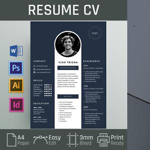 100+ Selected Resume CV professional career jobs profiles templates, PS, AI, Doc