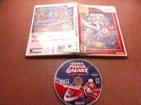 Nintendo Wii Disc Case No Manual Tested Super Mario Galaxy Ships Fast
