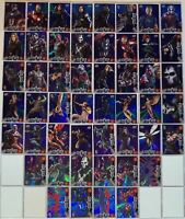 Captain America Civil War Movie Retail Blue Foil Parallel Chase Card Set 50 Card