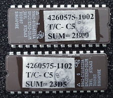 Texas Instrument EPROM UV 5962-8764802XA, 28-Pin DIP (Lot of 2)