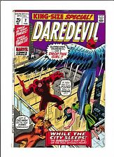 """Daredevil King-Size Special No.2  : 1971 :    : """"While The City Sleeps!"""" :"""