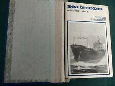 Sea Breezes Magazine – Full Year For 1968 (12 Editions)