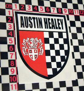 Austin Healey Shield Sticker