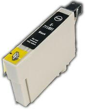 1 Black T0711 non-OEM Ink Cartridge For Epson Stylus SX405 SX410 SX415 SX510W