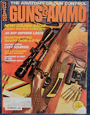 Magazine GUNS & AMMO Nov 1977 Shakespear KNIFE, Don't Get Stuck by a NAZI DAGGER