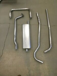1949-1950 Ford Custom Deluxe V8 Hardtop Complete Single Exhaust System
