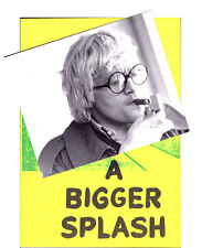 A BIGGER SPLASH David HOCKNEY Photo+DP+Aff Ossie CLARK Pop Art Film Gay 1974