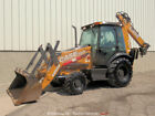 2017 Case 580N EP 4WD Backhoe Wheel Loader Tractor Diesel E Stick Cab bidadoo